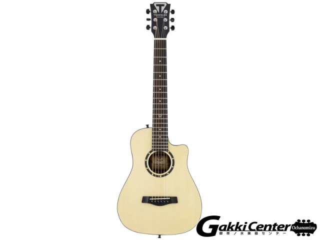 TRAVELER GUITAR Camper CS-10, Solid Spruce Top