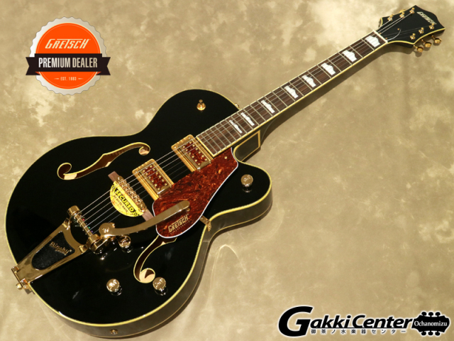 【限定仕様】Gretsch G5420TG Limited Edition Electromatic® '50s Hollow Body Single-Cut with Bigsby® Black【シリアルNo:KS19083239/3.4kg】【店頭在庫品】