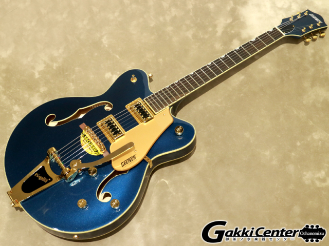 【アウトレット】【限定仕様】Gretsch G5422TG Limited Edition Electromatic Hollow Body Double-Cut with Bigsby, Midnight Sapphire 【シリアルNo:KS19083067/3.2kg】【店頭在庫品】