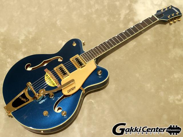 【アウトレット】【限定仕様】Gretsch G5422TG Limited Edition Electromatic Hollow Body Double-Cut with Bigsby, Midnight Sapphire 【シリアルNo:KS19083067/3.2kg】【店頭在庫品】