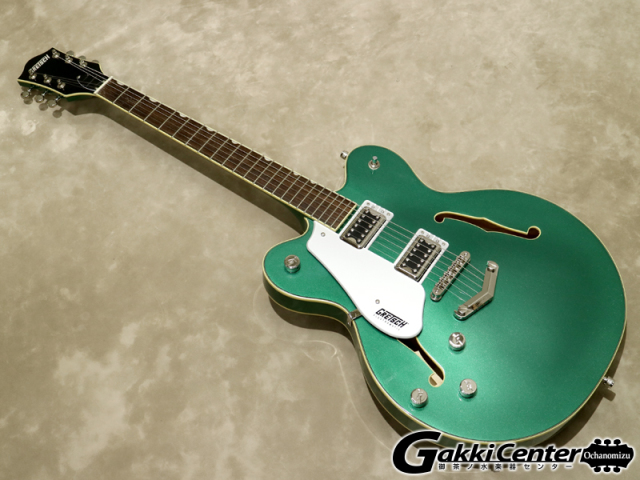 Gretsch G5622LH Electromatic® Center Block Double-Cut with V-Stoptail Left-Handed Georgia Green【シリアルNo:CYGC19090295/3.4kg】【店頭在庫品】