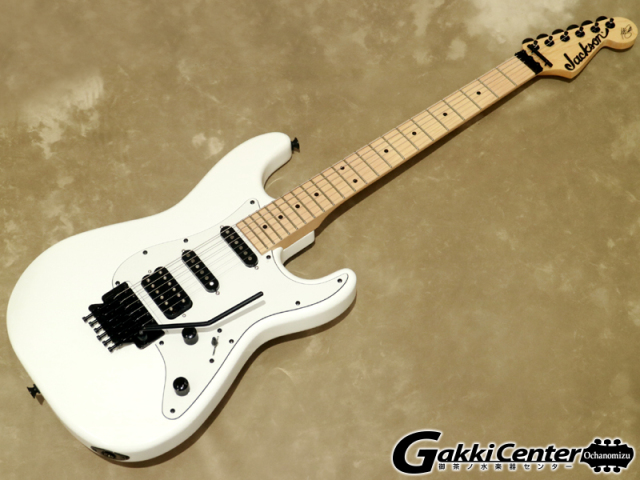 【アウトレット】Jackson X Series Signature Adrian Smith San Dimas® SDXM Snow Whitewith White Pickguard【シリアルNo:ICJ1900956/3.7kg】【店頭在庫品】