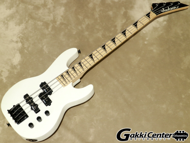 Jackson JS Series Concert™ Bass Minion JS1XM Snow White 【シリアルNo:CWJ1927946/2.9kg】【店頭在庫品】