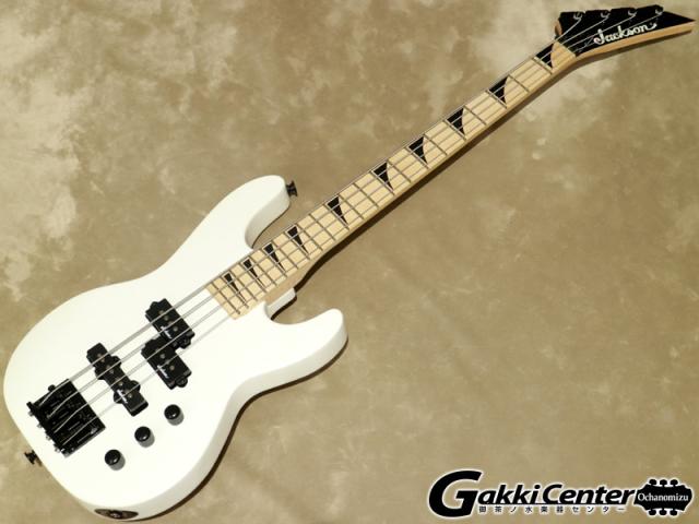 Jackson JS Series Concert Bass Minion JS1XM Snow White 【シリアルNo:CWJ1935439/3.1kg】【店頭在庫品】
