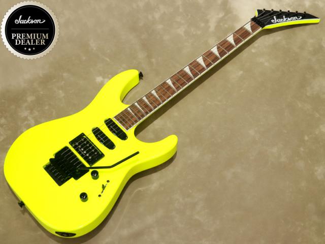 Jackson X Series Soloist™ SL3X Neon Yellow【シリアルNo:ICJ1968229/3.6kg】【店頭在庫品】