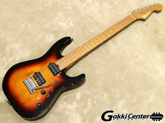 Charvel Dinky™ DK24 HH 2PT CM (Three-Tone Sunburst)【シリアルNo:MC19501301/3.4kg】【店頭在庫品】