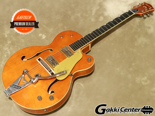 "Gretsch G6120T-BSSMK Brian Setzer Signature Nashville Hollow Body '59 ""Smoke"" with Bigsby / Smoke Orange【シリアルNo:JT19104214/3.4kg】【店頭在庫品】"