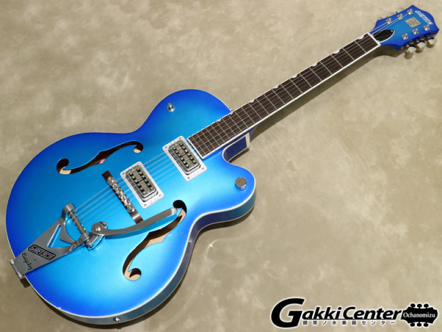 Gretsch G6120T-HR Brian Setzer Signature Hot Rod Hollow Body with Bigsby / Candy Blue Burst【シリアルNo:JT19104197/3.2kg】【店頭在庫品】
