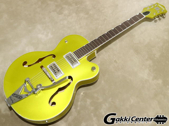 Gretsch G6120T-HR Brian Setzer Signature Hot Rod Hollow Body with Bigsby / Lime Gold【シリアルNo:JT19104203/3.2kg】【店頭在庫品】