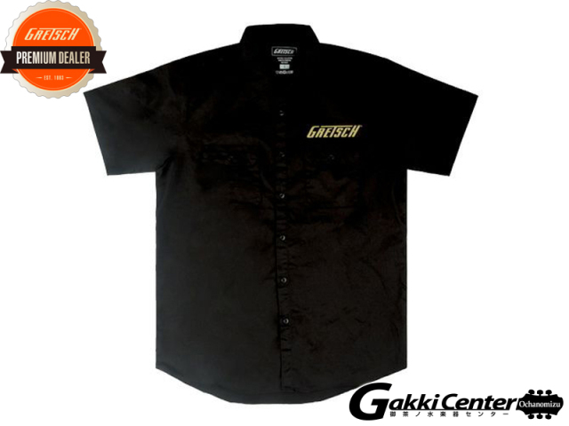Gretsch Professional Collection Workshirt, Black, Medium