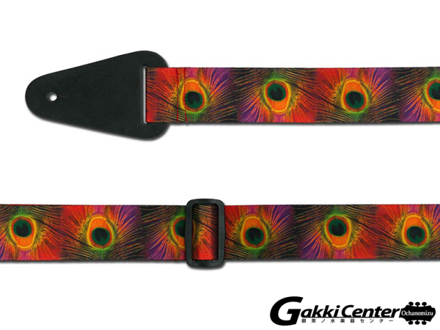 RENEGADE ギター/ベース用 ストラップ Peacock