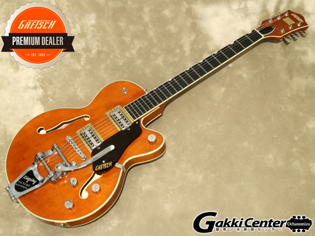 Gretsch G6659T Players Edition Broadkaster Jr. Center Block Single-Cut with String-Thru Bigsby, Roundup Orange【シリアルNo:JT20041741/3.3kg】【店頭在庫品】