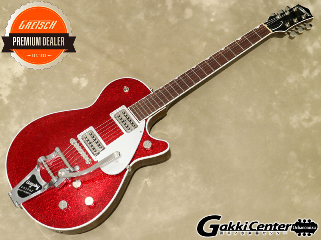 Gretsch G6129T Players Edition Jet™ FT with Bigsby® Red Sparkle【シリアルNo:JT20041715/3.8kg】【店頭在庫品】