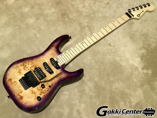 Charvel Pro-Mod Dinky DK24 HSS FR M Poplar, Purple Sunset  【シリアルNo:MC20501438/3.2kg】【店頭在庫品】