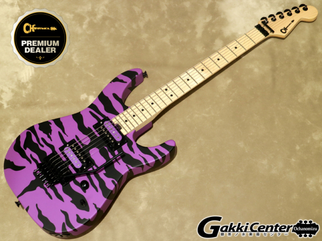 Charvel Satchel Signature Pro-Mod DK,  Satin Purple Bengal【シリアルNo: MC192450/3.5kg】【店頭在庫品】