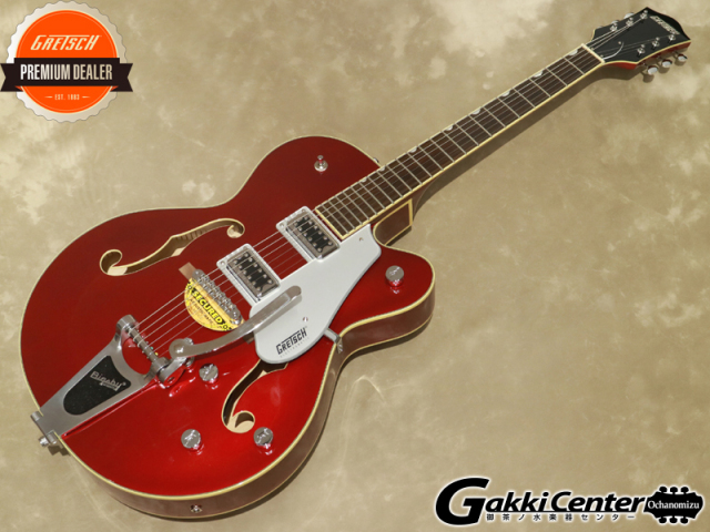 Gretsch G5420T Electromatic Hollow Body Single-Cut with Bigsby, Candy Apple Red【シリアルNo:KS20033796/3.4kg】【店頭在庫品】