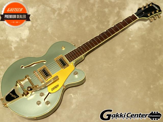 【アウトレット】Gretsch G5655TG Electromatic Center Block Jr. Single-Cut with Bigsby, Aspen Green【シリアルNo:CYGC20030057/3.4kg】【店頭在庫品】
