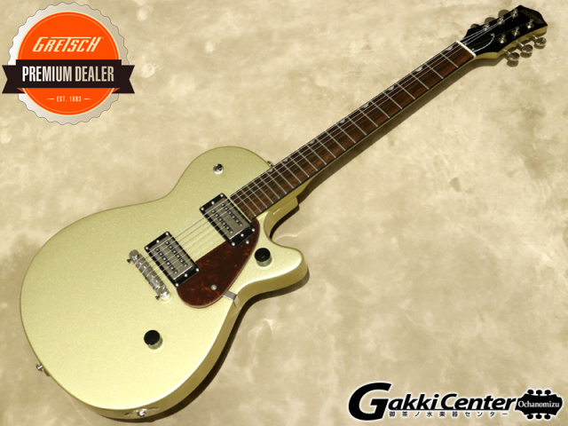 Gretsch G2210 Streamliner Junior Jet Club, Golddust【シリアルNo:ISG200401033/3.5kg】【店頭在庫品】
