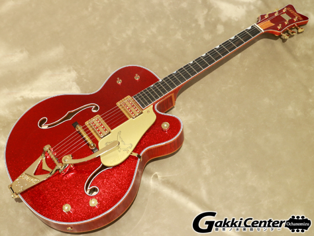 【アウトレット】【Made in U.S.A Custom Shop】Gretsch G6136 CS 59 FALCON RED SPARKEL【シリアルNo:UC20082018/3.8kg】【店頭在庫品】
