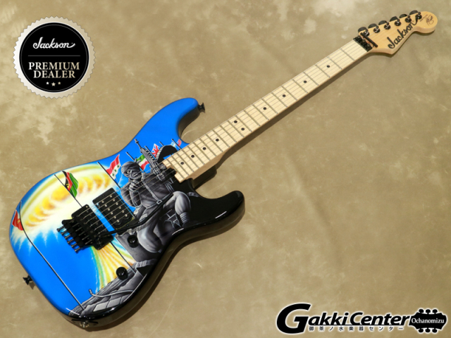 【Made in U.S.A Custom Shop】Jackson Signature Adrian Smith San Dimas, Two Minutes to Midnight【シリアルNo:12305/3.7kg】【店頭在庫品】