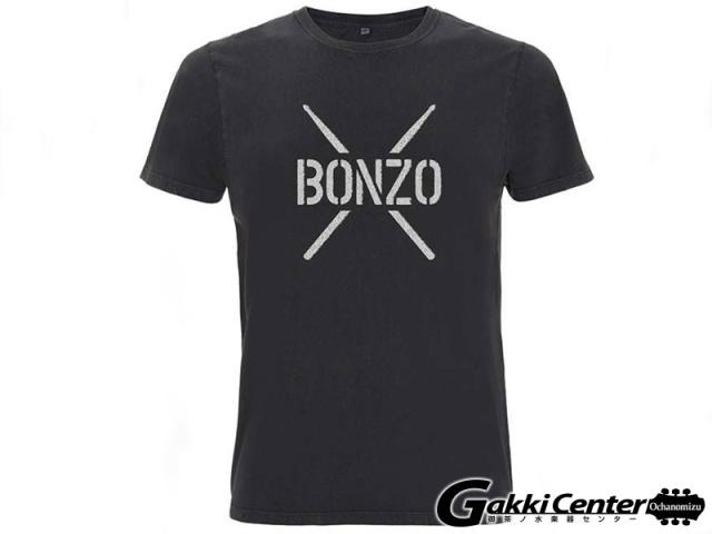 PROMUCO John Bonham T-Shirt BONZO STENCIL - Black(Sサイズ)
