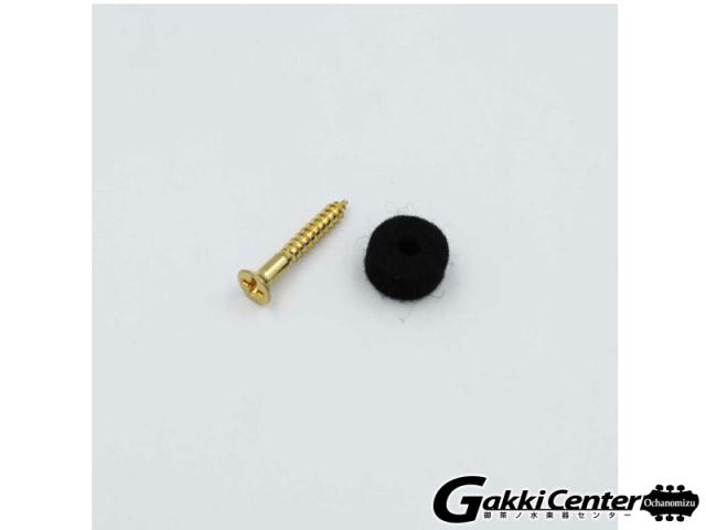 Gretsch W/Spacer Pickguard Screw, Gold