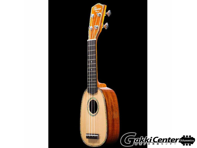 "Ohana ""Sopranissimo"", Pineapple, Solid Spruce Top, Solid Mahogany Back & Sides, Gloss TTPK-70G"