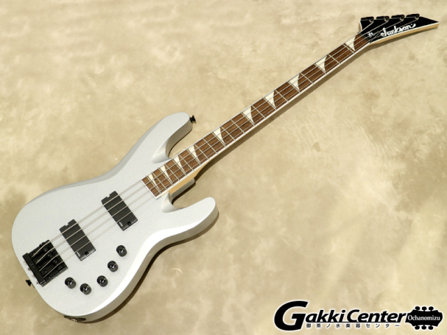 Jackson X Series Signature David Ellefson Concert Bass CBX IV, Quicksilver【シリアルNo:ICJ1902007/3.8kg】【店頭在庫品】