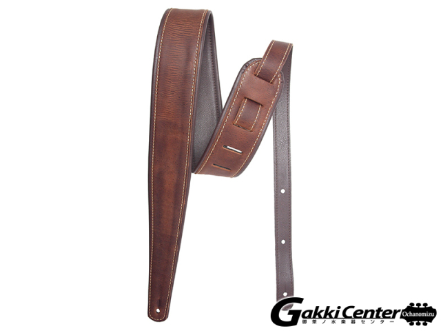 LM Products Premier Guitar Strap - Craftsman Leather PM-11 Whiskey
