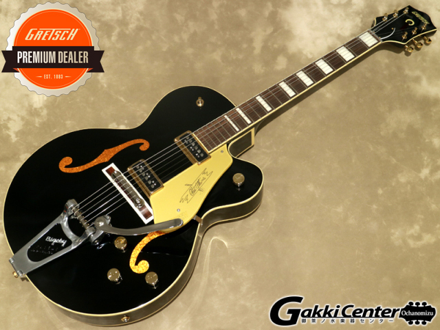 Gretsch G6120T-BLK FSR Vintage Select Edition Chet Atkins Hollow Body【シリアルNo:JT20093667/3.7kg】【店頭在庫品】