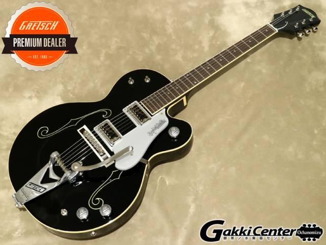 Gretsch G6119T-65KA Kenichi Asai Signature Black Cat with Bigsby