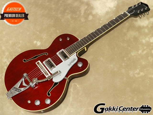 【アウトレット】Gretsch G6119T-65KA Kenichi Asai Signature Tennessee Rose with Bigsby Lacquer【シリアルNo:JT20114398/3.1kg】【店頭在庫品】