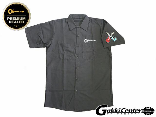Charvel Patch Work Shirt, Gray, Medium