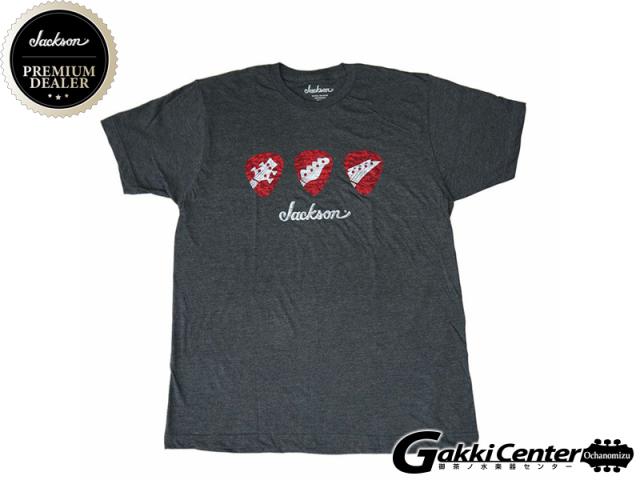Jackson Pick T-Shirt, Gray, Medium