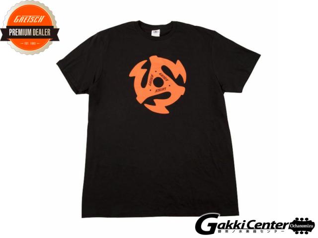 Gretsch 45 RPM T-shirt, Black, Medium
