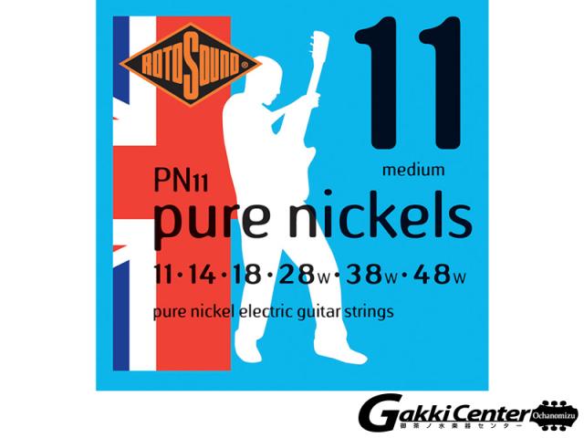 ROTOSOUND PN11 Pure Nickels Medium (.011-.048)