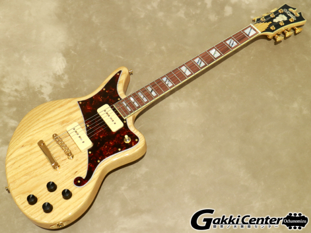D'Angelico Deluxe Series Deluxe Bedford, Swamp Ash P-90s【シリアルNo:W1900667/3.6kg】【店頭在庫品】