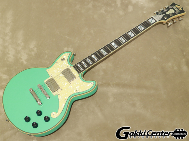 D'Angelico Deluxe Series Deluxe Brighton Limited Edition, Matte Surf Green【シリアルNo:W2002730/4.1kg】【店頭在庫品】