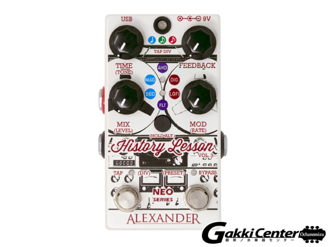 Alexander Pedals Neo Series History Lesson Volume 3