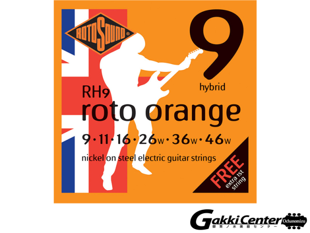 ROTOSOUND RH9 Hybrid (.009-.046)