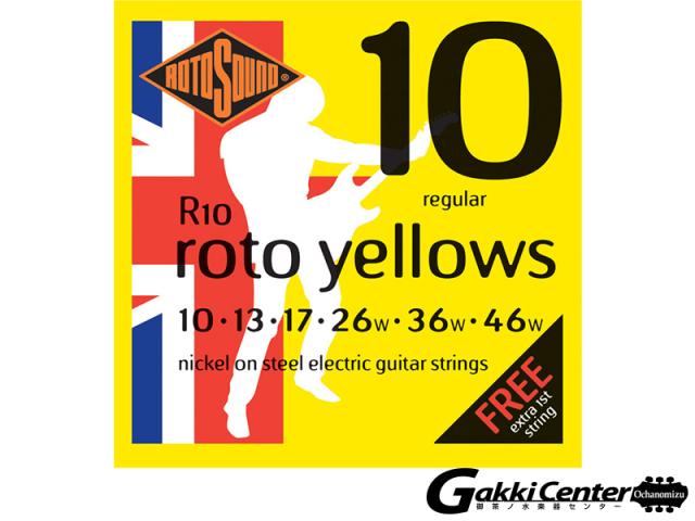 ROTOSOUND R10 Regular (.010-.046)