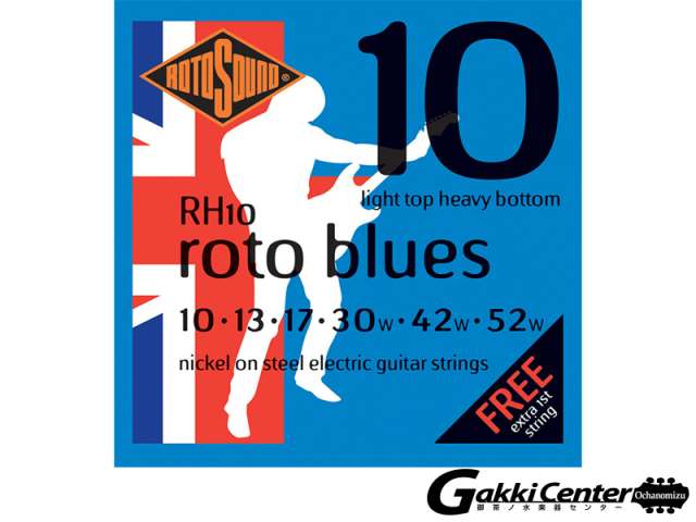 ROTOSOUND RH10 Light Top Heavy Bottom (.010-.052)