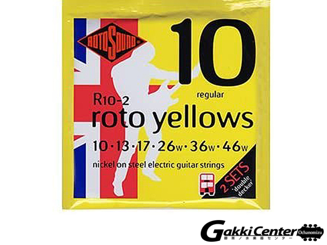 ROTOSOUND Rotos R10-2 Regular (.010-.046 2Sets)