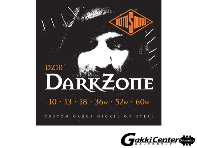 ROTOSOUND DZ10 Darkzone Custom (.010-.060)