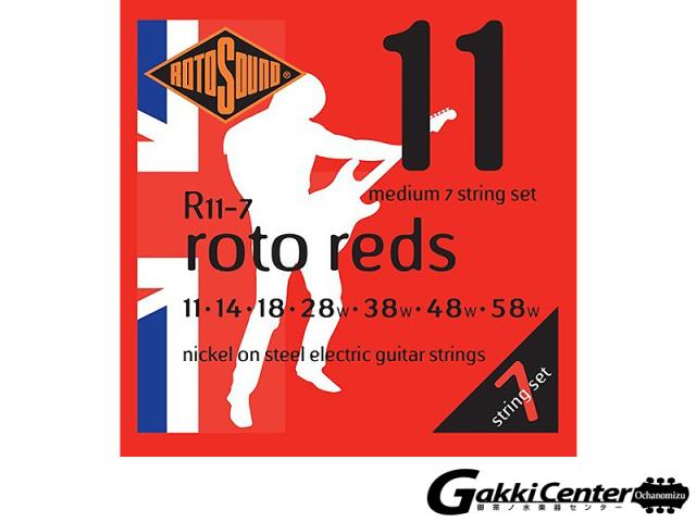 ROTOSOUND R11-7 Medium 7 Stringss Set (.011-.058)