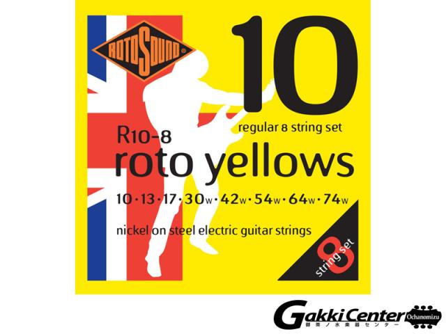ROTOSOUND R10-8 Regular 8 Stringss Set (.010-.074)
