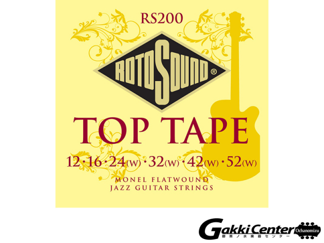 ROTOSOUND RS200 Top Tape Medium (.012-.052)