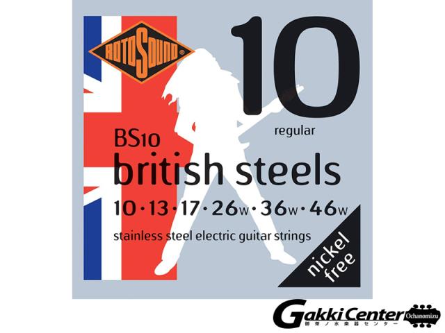 ROTOSOUND BS10 British Steels Regular (.010-.046)