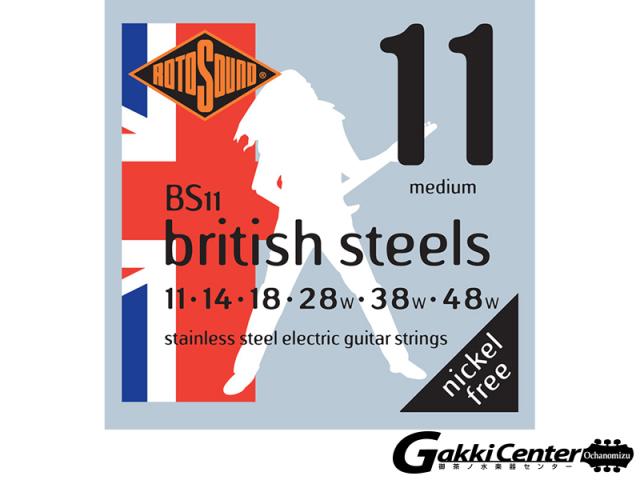 ROTOSOUND BS11 British Steels Medium (.011-.048)