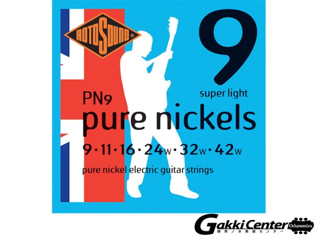ROTOSOUND PN9 Pure Nickels Super Light (.009-.042)